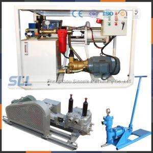 Petite pompe hydraulique manuelle pour le ciment de l'injection