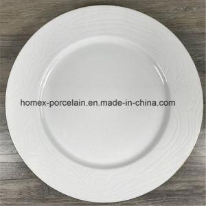 Plaque en céramique avec gaufré