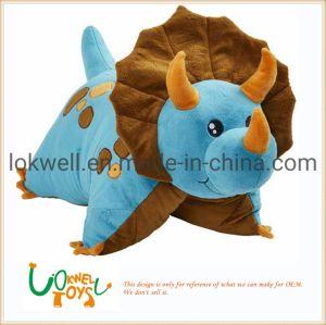 De aangepaste Gevulde Baby die van het Stuk speelgoed van het Stuk speelgoed van het Monster van de Pluche van het Stuk speelgoed Dierlijke Zachte het Dierlijke Monster van het Kussen slapen