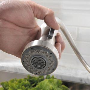 도매 Cupc 까만 금관 악기 물 믹서 부엌 개수대 꼭지
