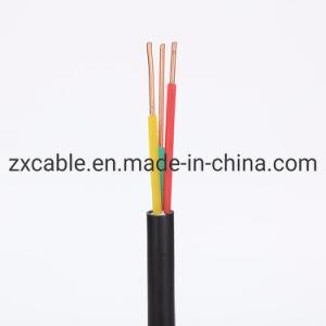 Coductor de cuivre souple Rvv/H05VV-F isolés en PVC Câble électrique