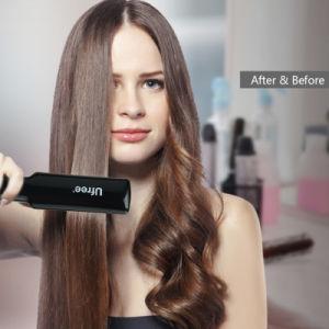 Professional Hair fer plat rapide outils chauffage céramique cheveux tailleuse de fer de redressage écran numérique LCD 100-240 V