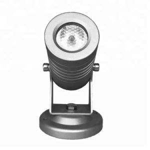 3W 12/24VDC ou 100~240vacip65 LED de exterior Jardim Luz interna direcionável