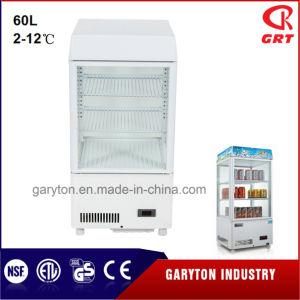 Демонстрация системы охлаждения (GRT-LC-60B) дисплей витрина для магазина