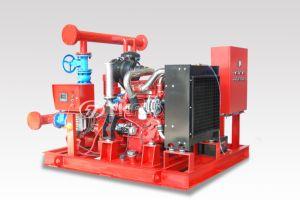 La norme NFPA 20 FM de la pompe incendie Diesel de la pompe à eau du moteur