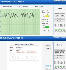 Common Rail banc de test de calibrage des injecteurs
