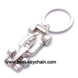 3D Custom Promotion F1 Car Personalized Key Chains (BK52548)