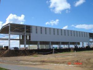 Magazzino prefabbricato di costruzione del blocco per grafici d'acciaio