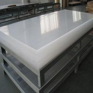 Transparente de alta qualidade e espessura da folha de PMMA / placa de acrílico de fundição