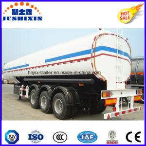 半中国の工場炭素鋼50cbmのオイルタンクの燃料の交通機関のタンカーのトレーラー