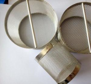 Café té Canasta del filtro de malla fina de acero inoxidable colador Infuser Brew en taza grande