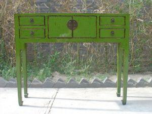 Tabella cinese del lato della mobilia antica (ART-002)