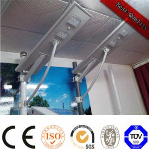 屋外の太陽電池パネル電池は1つの太陽街灯のすべてを統合した