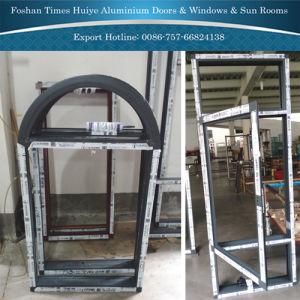 Finestra fissa di alluminio con vetro Tempered per la decorazione interna