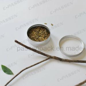barattolo di latta di alluminio del tè del commestibile 150g
