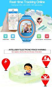 Het nieuwe Originele Slimme Horloge van de Jonge geitjes/van de Kinderen van de Drijver van de Giften GPS/GSM/WiFi van Jonge geitjes Anti Verloren met Sos GSM van de Steun Telefoon van de Cel van de Telefoon van de Telefoon de Mobiele