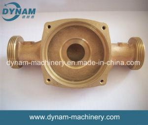 Клапан отливки песка CNC точности частей машинного оборудования подвергая механической обработке медный