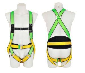 Arnés de seguridad de cuerpo completo con el apoyo de la cintura