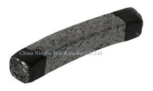 Trenzado de grafito flexible de embalaje de la glándula de la bomba de la junta