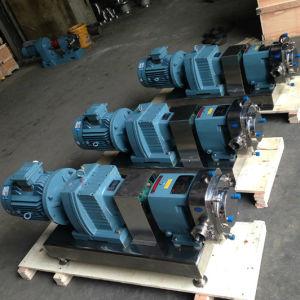 En acier inoxydable de qualité hygiénique de viscosité élevé de la pompe du rotor