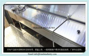 Un buffet chinois tube carré de voiture à hot dog fourgonnettes de chariot