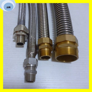 1/2  Edelstahl-flexibles Metallgefäß