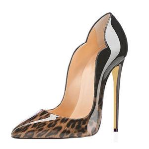 Bajo precio Dama Casual vestido de noche zapatos de tacones altos