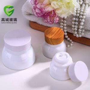 Tarro de crema cosmética de vidrio para envases