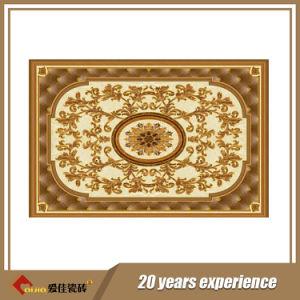 Het nieuwe Ontwerp poetste de Gouden Tegels van het Tapijt met Goedkope Prijs (bdj601058b-4) op
