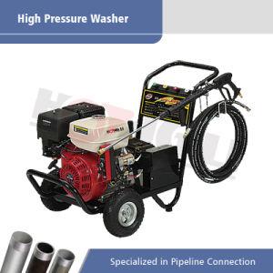 2개의 바퀴 (HL-3800G)를 가진 가솔린 고압 세탁기