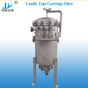 Caja del filtro de cartucho de tipo vela