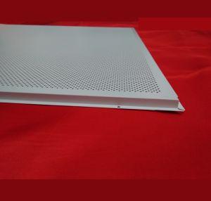 China Wholesale, revestimiento de polvo de metal falso techo perforado del medio ambiente
