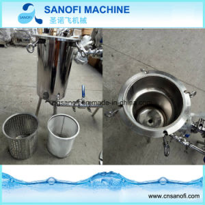 Doppelter Filter für Milch-Getränkesaft-Industrie