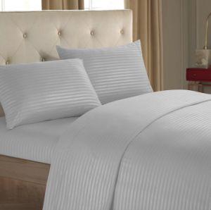 Hotel de lujo de microfibra ropa 1800tc bordar la ropa de cama de hotel de la fábrica China