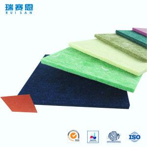 Écran antibruit insonorisé intérieur de fibre de polyester de panneau de matériau d'absorption saine de cinéma