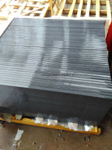 屋外のフロアーリングのための安い炎にあてられたG654 Padangの暗い灰色の花こう岩のタイル