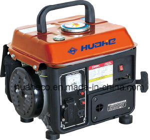 熱い販売の650Wおよび800W小さい2組の打撃ガソリン発電機セット