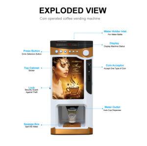 Automaat F303V van de Koffie van de Prijs van de fabriek de Mini Hete