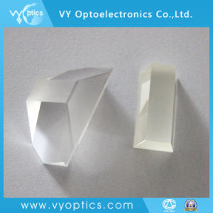 Prisma de vidrio óptico de huella digital de escáner