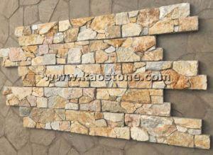 De natuurlijke Lei van de Cultuur van de Bekleding van het Vernisje van de Steen voor de Decoratie van de Muur