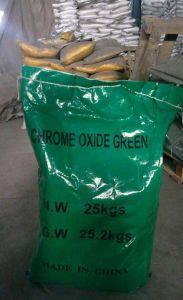 ISO verklaarde het Anorganische Groene Oxyde van het Chroom van het Pigment Cr2o3 voor Deklaag