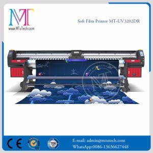 紫外線インクジェット・プリンタWithgen5の印字ヘッドのMt Softfilm3207紫外線販売のためのアルミニウム旗プリンターを転送する熱い販売3.2mロール