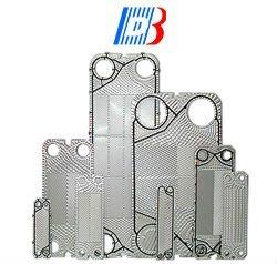 Acier inoxydable/Ti /Plaques de SMO pour plaque de joint échangeur de chaleur Funke FP31 Remplacement