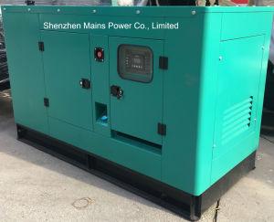 30kVA generador diésel Cummins Cummins techado generadora de energía silenciosa
