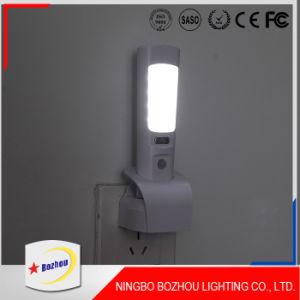 夜LED軽い白、再充電可能なLED屋内ライト