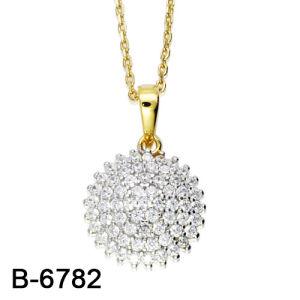 Pendente sterlina d'argento del cuore di amore dei monili 925 d'avanguardia per la cerimonia nuziale