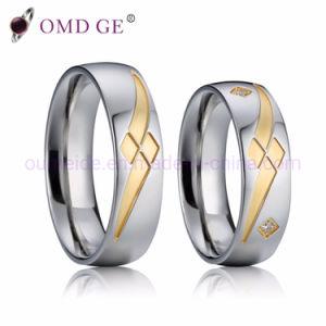 Bijoux en titane pur anneau populaire pour les hommes et femmes