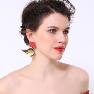 Hot Sale prix d'usine tempérament Simple Earrings Bijoux de mode