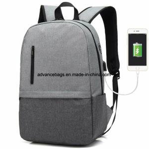 726a03edfd Ordinateur portable de loisirs de l'école sac à dos étanche avec USB au port  de chargement pour les Hommes Femmes Daypack antivol Léger voyage étudiant  sac ...