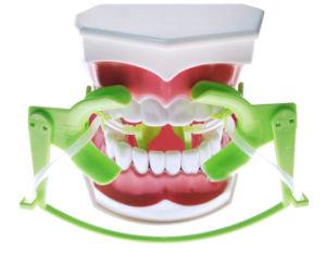 Campo seco Dental ajustable sistema retractor mejilla con aspiración